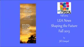 LEA News Shaping the Future Fall 2013
