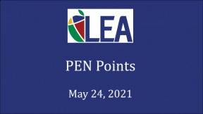 PEN Points - May 24, 2021