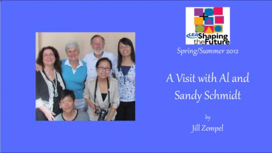 A Visit with Al and Sandy Schmidt