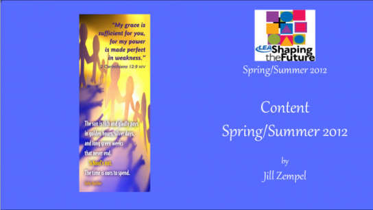 Content Spring/Summer 2012
