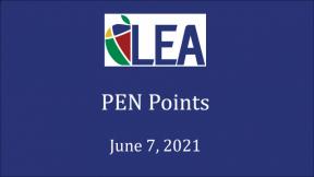 PEN Points - June 7, 2021