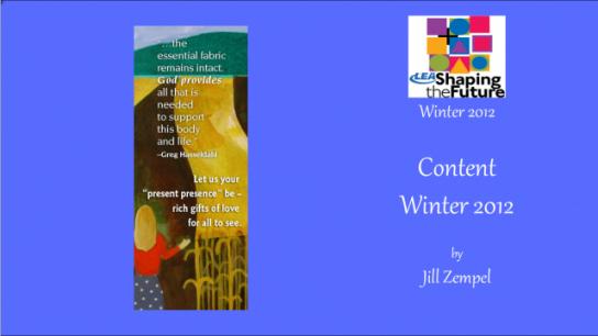 Content Winter 2012