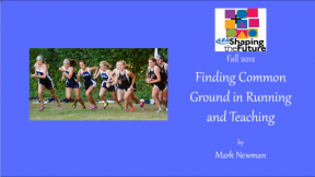 Finding Common Ground in Running and Teaching