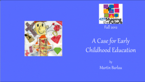 A Case for Early Childhood Education