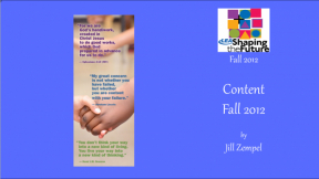 Content Fall 2012