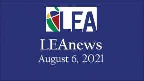 LEAnews - August 6, 2021