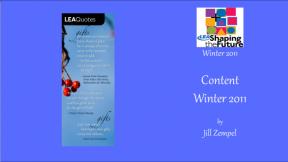Content Winter 2011