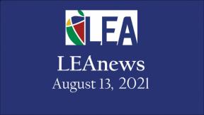 LEAnews - August 13, 2021