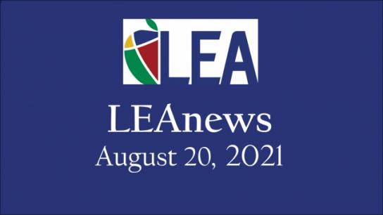 LEAnews - August 20, 2021
