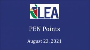 PEN Points - August 23, 2021