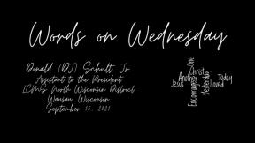 Words on Wednesday - September 15, 2021