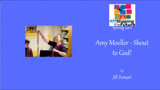 Amy Moeller - Shout to God!