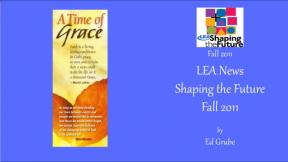 LEA News Shaping the Future Fall 2011