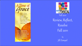 Review, Reflect, Resolve Fall 2011