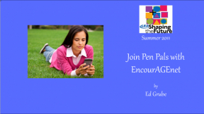 Join Pen Pals with EncourAGEnet