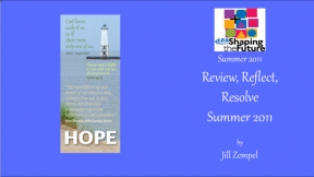 Review, Reflect, Resolve Summer 2011