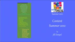 Content Summer 2010