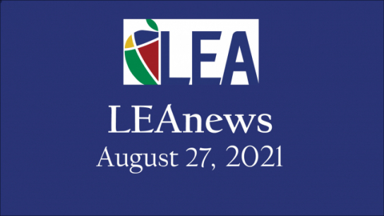 LEAnews - August 27, 2021