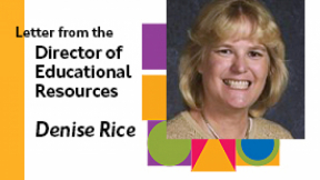 Letter from the Director of Educational Resources: Take the Initiative