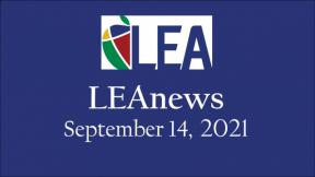 LEAnews - September 14, 2021