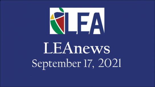 LEAnews - September 17, 2021