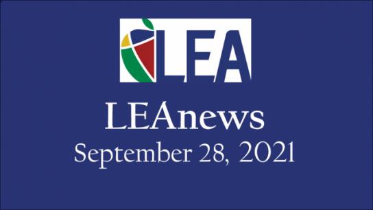 LEAnews - September 28, 2021
