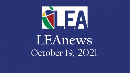 LEAnews - October 19, 2021